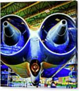 Strange Engines Canvas Print