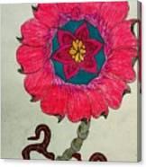 Strange Flower Canvas Print