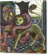 Strange Reverie Detail Canvas Print