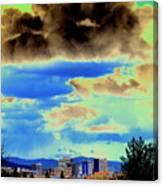 Strange Spokane Storm Canvas Print