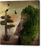 Stranger In The Forest Canvas Print
