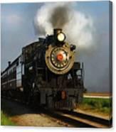 Strasburg Locomotive Canvas Print