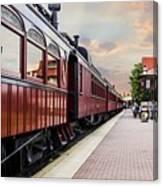 Strasburg Railroad Canvas Print