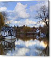 Strateley - England Canvas Print