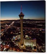 Stratosphere Casino Hotel  Canvas Print