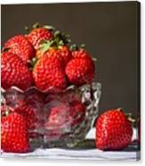 Strawberries In The Sun Canvas Print