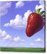 Strawberry Field Canvas Print