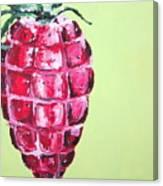 Strawberry Grenade Canvas Print