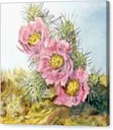 Strawberry Hedgehog Canvas Print