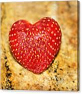 Strawberry Love Canvas Print