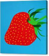 Strawberry Pop Canvas Print