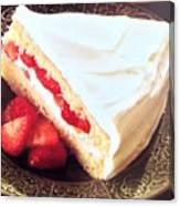 Strawberry Short Cake  Canvas Print