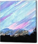 Streaked Sky Canvas Print