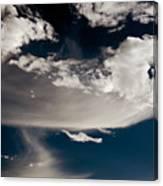 Streakin' Cloud Canvas Print