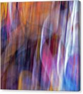 Streaks Of Thread Canvas Print