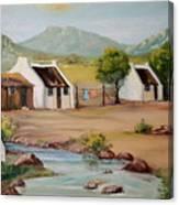 Stream Dwellers Canvas Print