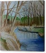 Stream For Chandler Canvas Print