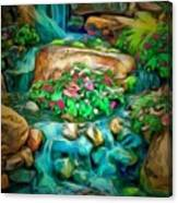 Stream In Ambiance Canvas Print