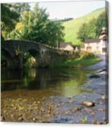 Stream In England Canvas Print