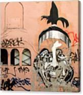 Street Art 1 Canvas Print