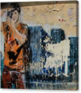 Street Art 3 Canvas Print