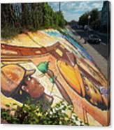 Street Art At Washington D.c. - Cultivating The Rebirth 3 Canvas Print