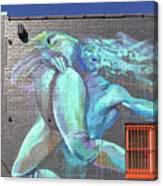 Street Art In Charleston Canvas Print