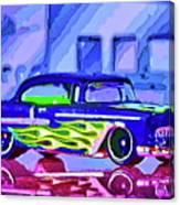 Street Cruiser - American Way Of Drive 2 Canvas Print