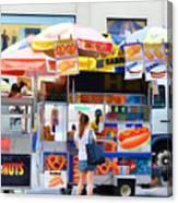 Street Food 2 Canvas Print