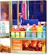Street Food 3 Canvas Print