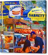 Street Food 5 Canvas Print