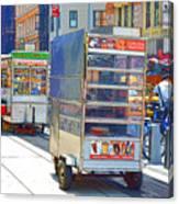 Street Food 8 Canvas Print