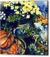 Street Garden Canvas Print