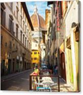 Street In Florence Canvas Print