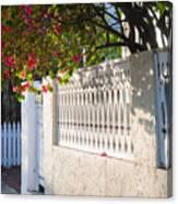 Street In Key West Canvas Print