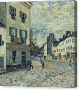 Street In Marly Canvas Print