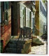 Street In New Castle Delaware Canvas Print