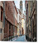 Street In Toulouse Canvas Print