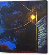 Street Light Nocturne Canvas Print