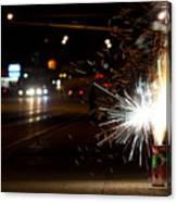 Street Lights Canvas Print