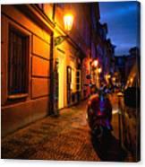 Street Of Prague Canvas Print