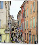 Street Orange, France Canvas Print