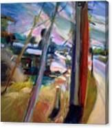 Street Pole Canvas Print