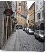 Street  Praha Canvas Print