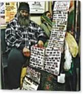 Street Preacher On The A Train Canvas Print
