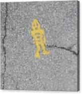 Street Robot Canvas Print