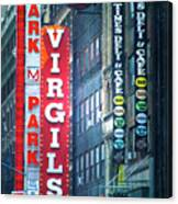 Street Signs Of New York Canvas Print