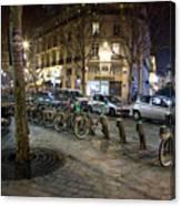 Streets At Saint-michel Canvas Print