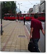 Streets Of Belgrade Canvas Print