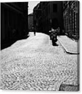 Streets Of Cesena Canvas Print